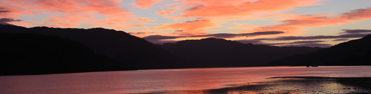 Sunset Ardnamurchan Scotland