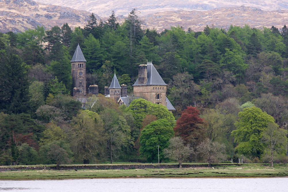 Ardtornish House Morvern Scotland