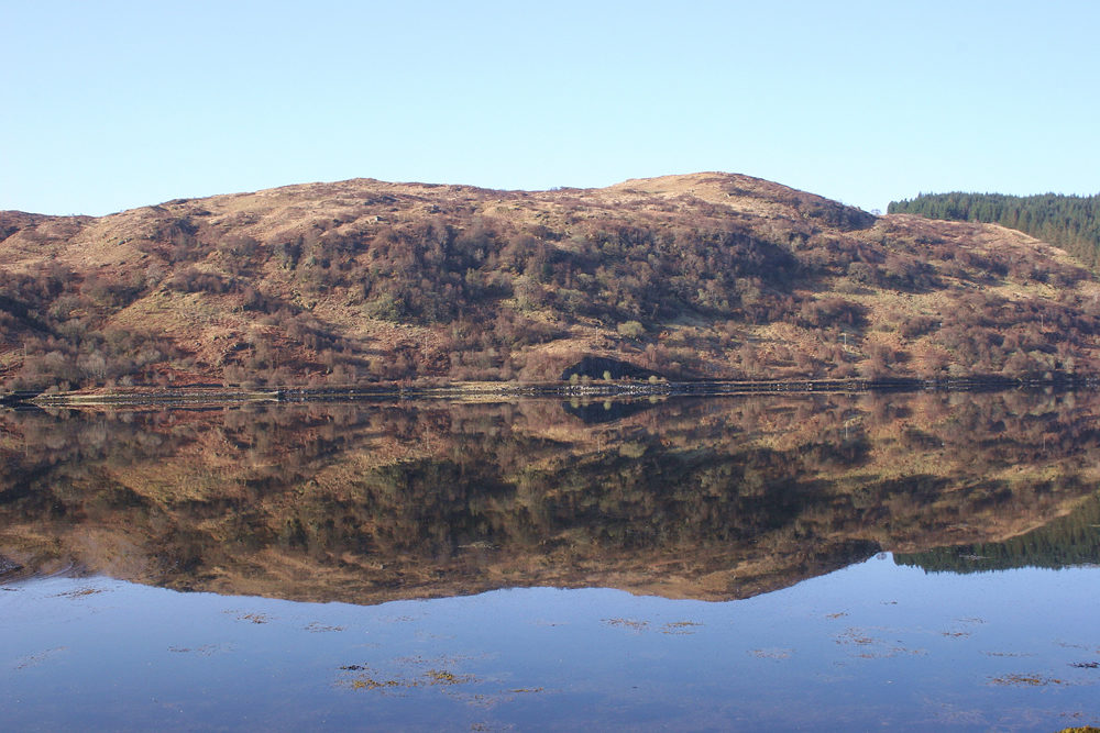 Reflection Strontian Ardnamurchan Scotland